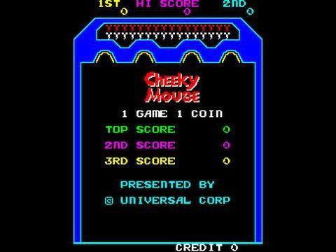 Cheeky Mouse Windows Mame Game Download