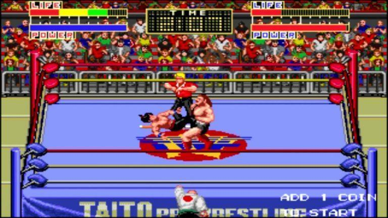 Champion Wrestler (Japan) Windows Mame Game Download